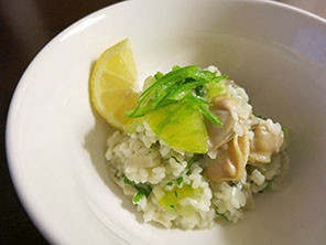 Clam Risotto with St. Ours Clam Broth