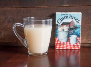 Enjoy a Cup of St Ours Clam Broth